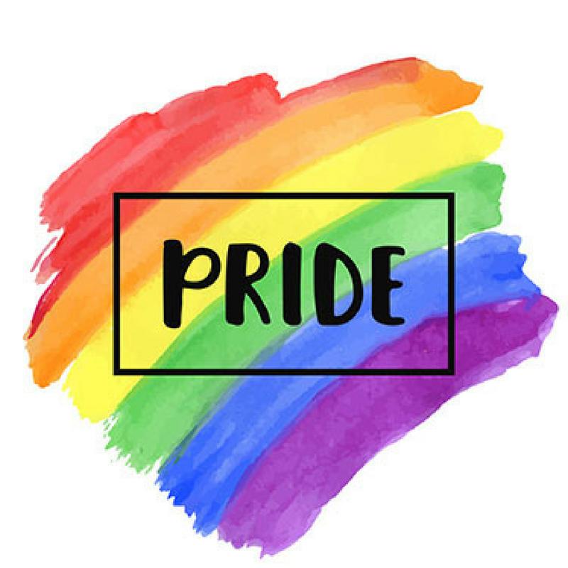 Colourful Decor LGBT Pride Month