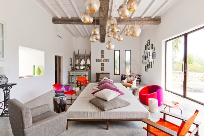 Moroccan Interiors Colourful and Textured Living Space