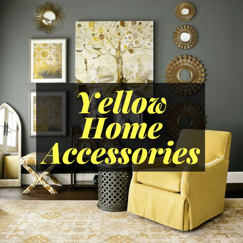 Yellow Accessories Home Decor
