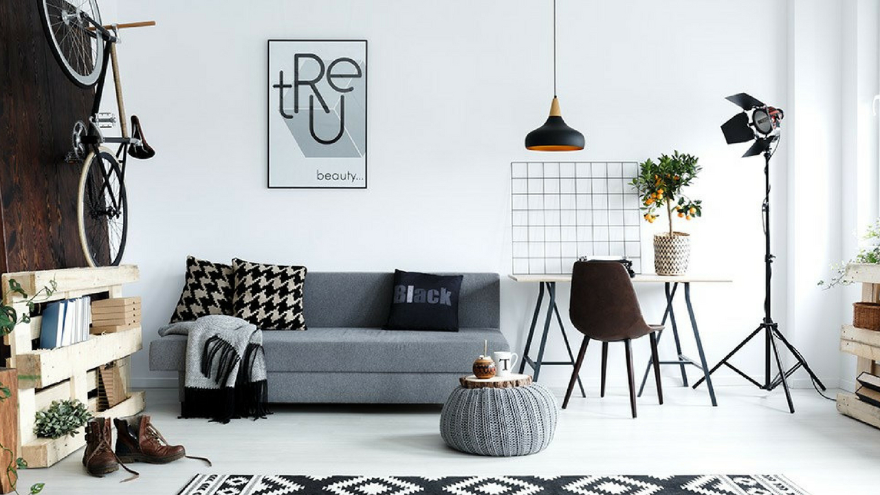 Interior Design Trends monochrome space