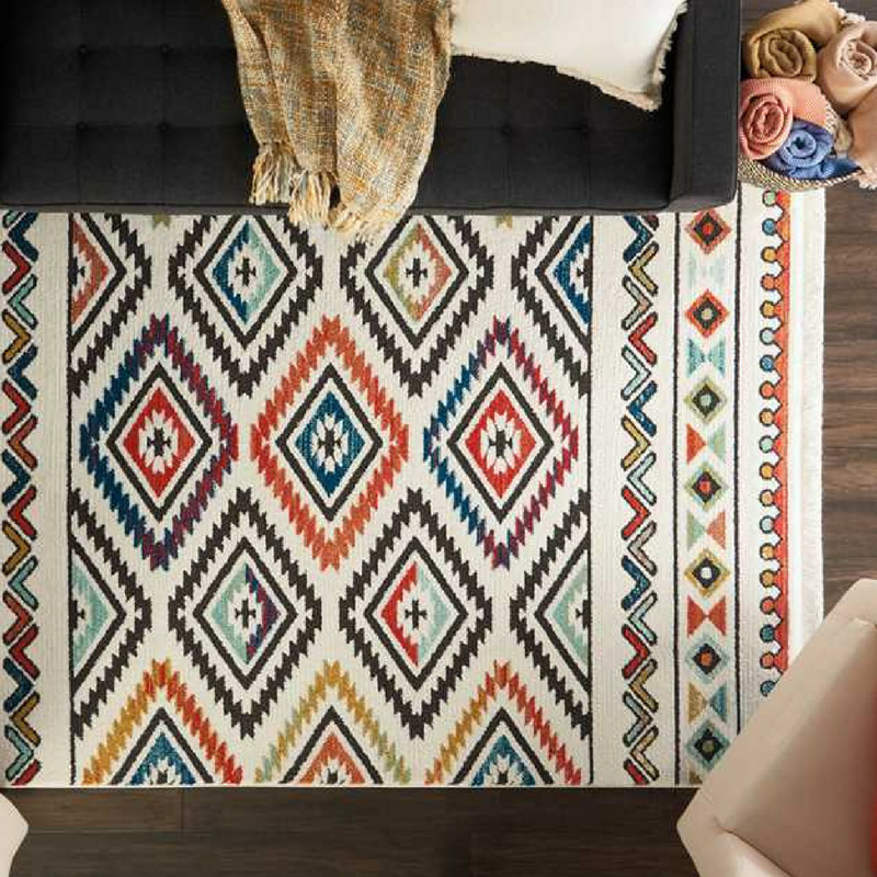 Interior Design Trends navajo rug from the rug seller