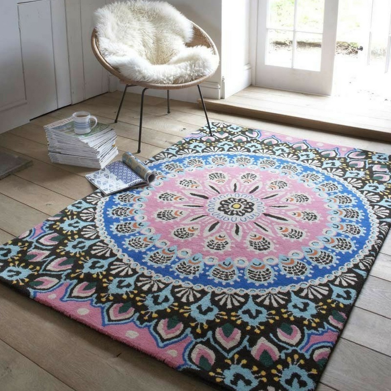 Interior Design Trends nomadic design rug from the rug seller