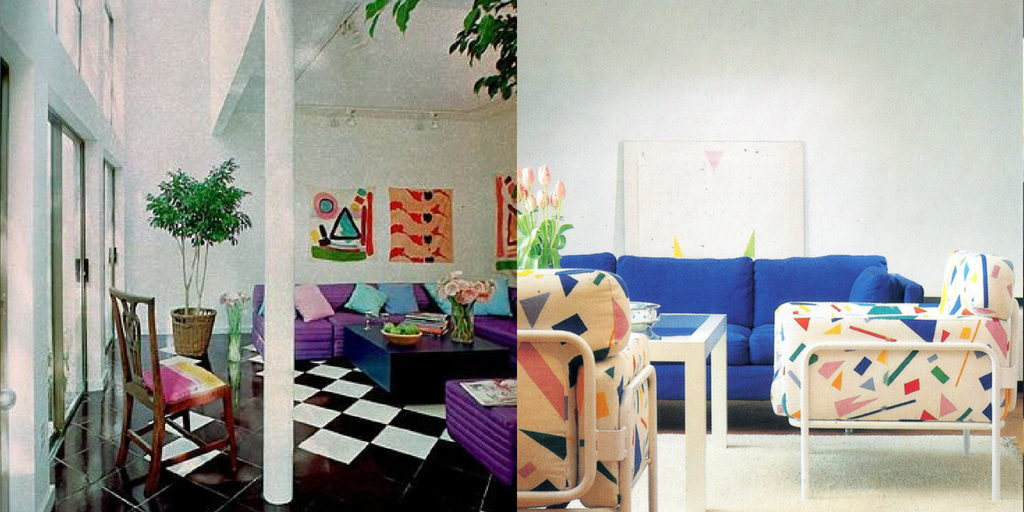 1980s Decorating Decade Interior Style