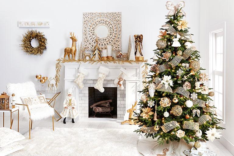 Christmas Colour Theme Living Room Space