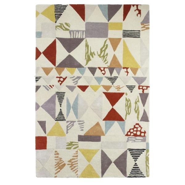 International Women's Day | Harlequin Rug by Fiona Howard
