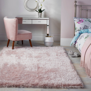 Valentine's Day | Dazzle Rugs in Blush Pink by The Rug Seller
