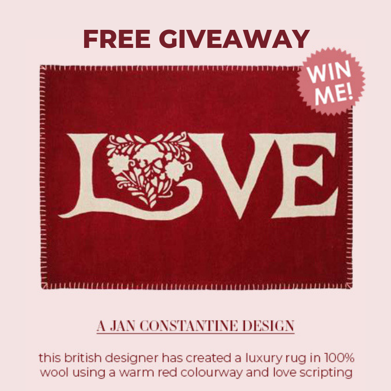 Valentine's Day | Win a Love Rug
