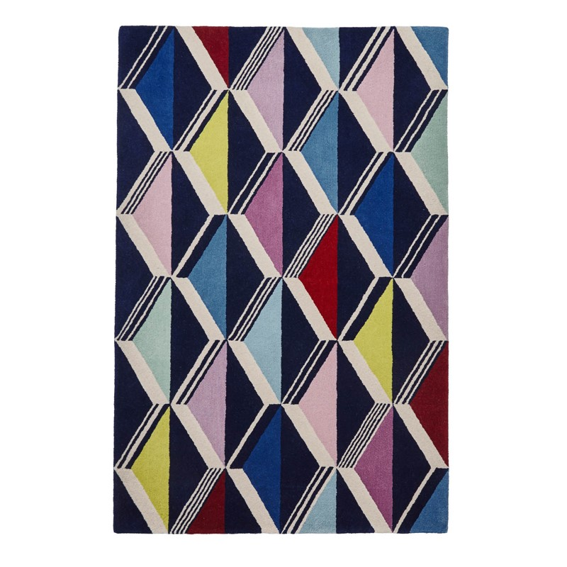 International Women's Day | Zig Zag Rug by Fiona Howard