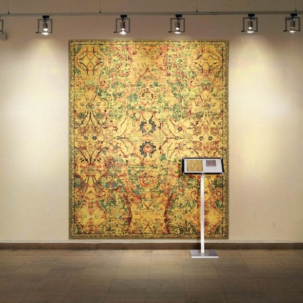 Rugs as Wall Art | Timeless Rugs from The Rug Seller