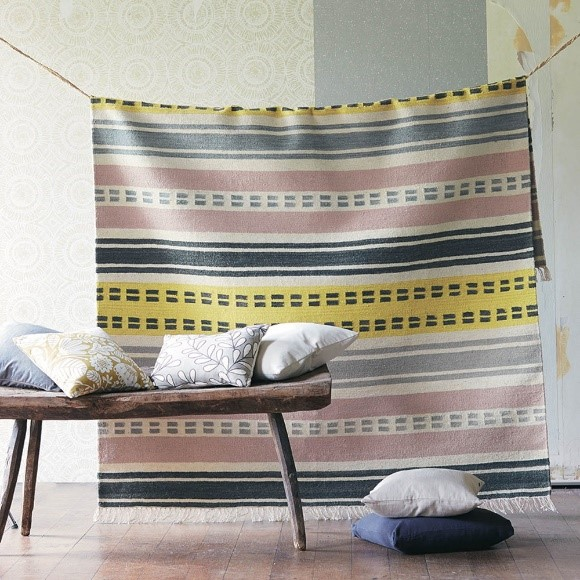 Rugs as Wall Art | Rivi Rug from The Rug Seller
