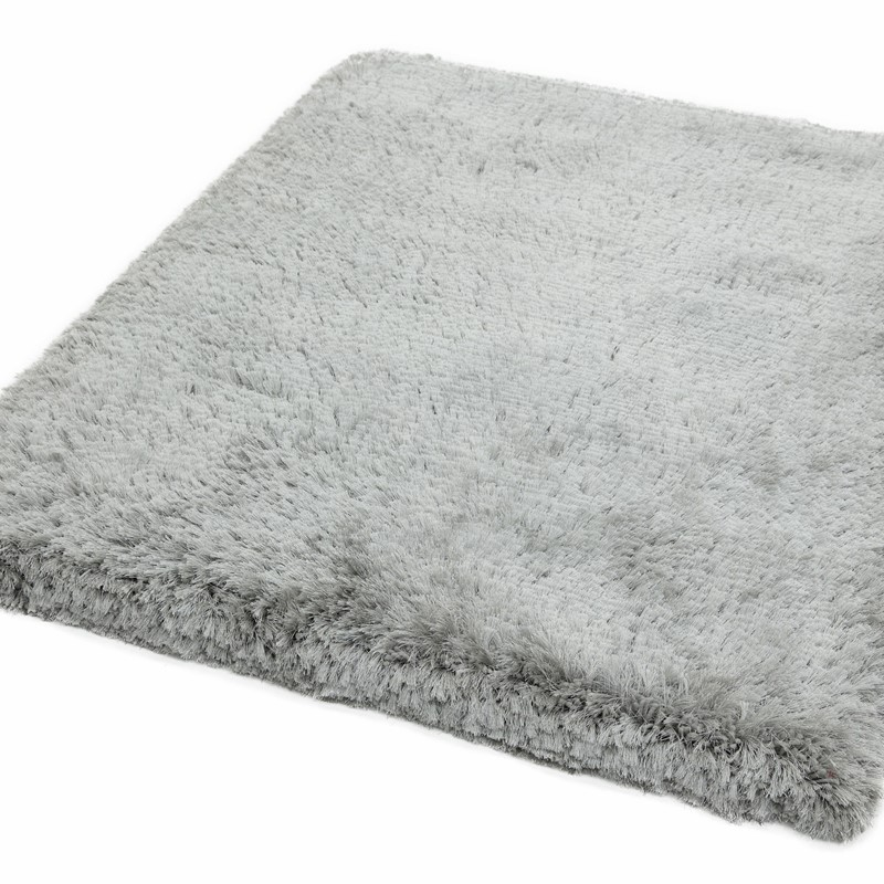 Mrs Hinch Home: Mrs Hinch's Rug, Plush Rug in Silver