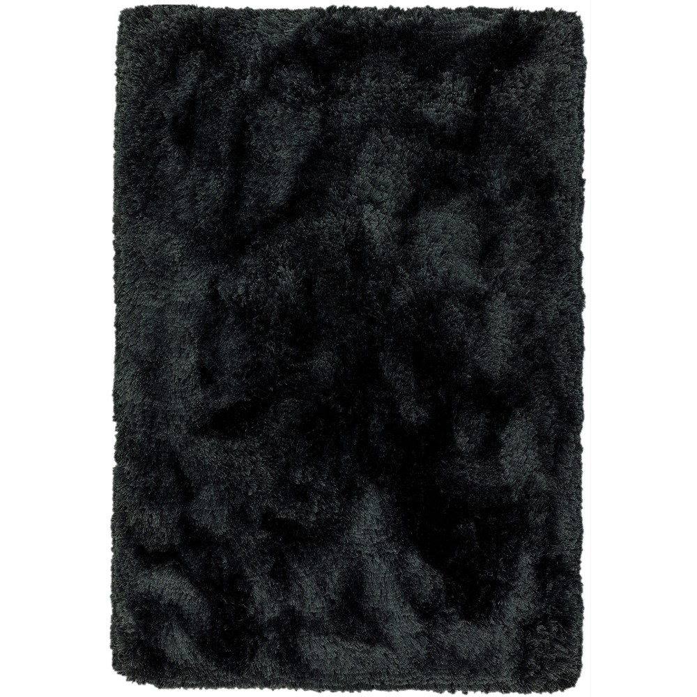 Plush Rugs in Black