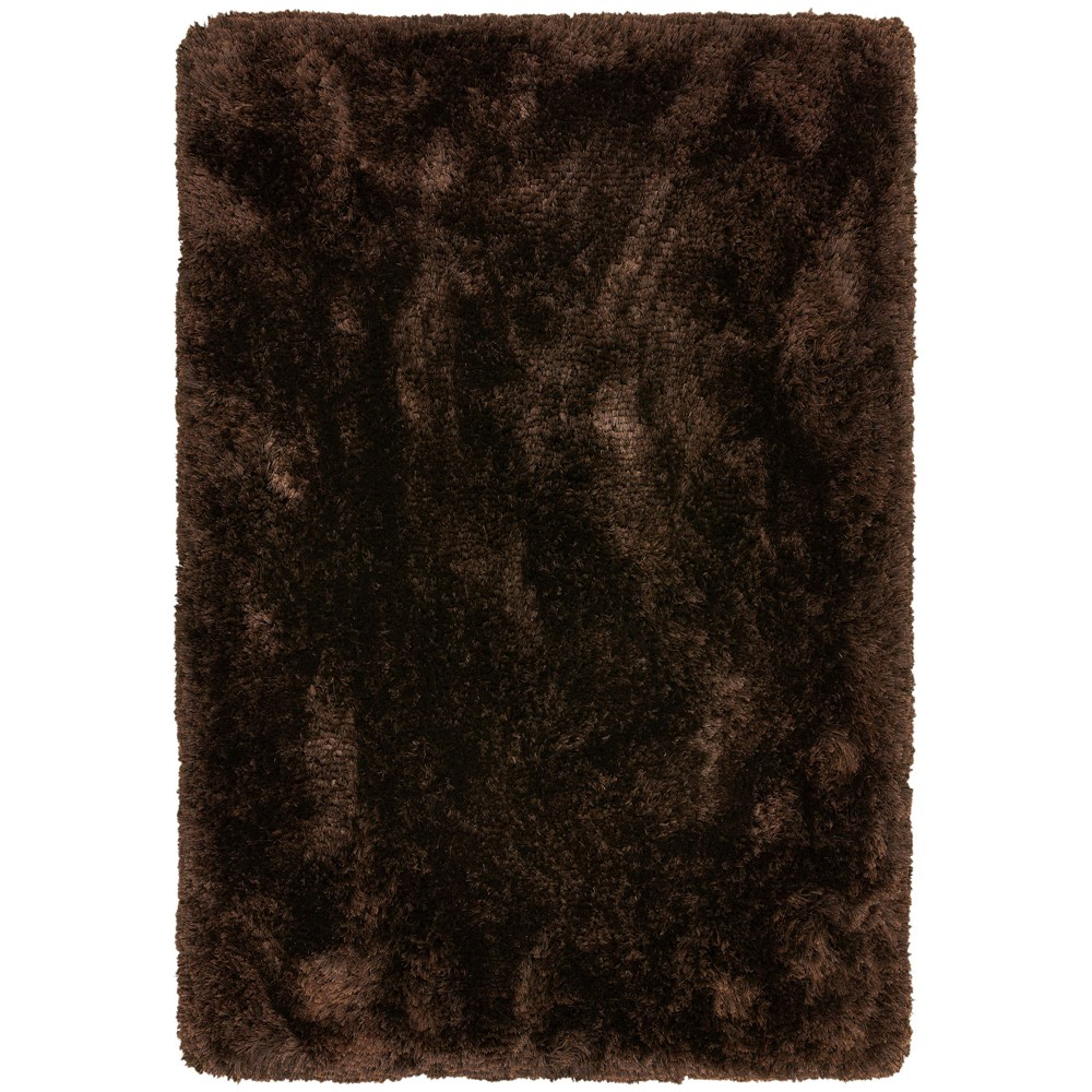 Plush Rugs in Dark Chocolate