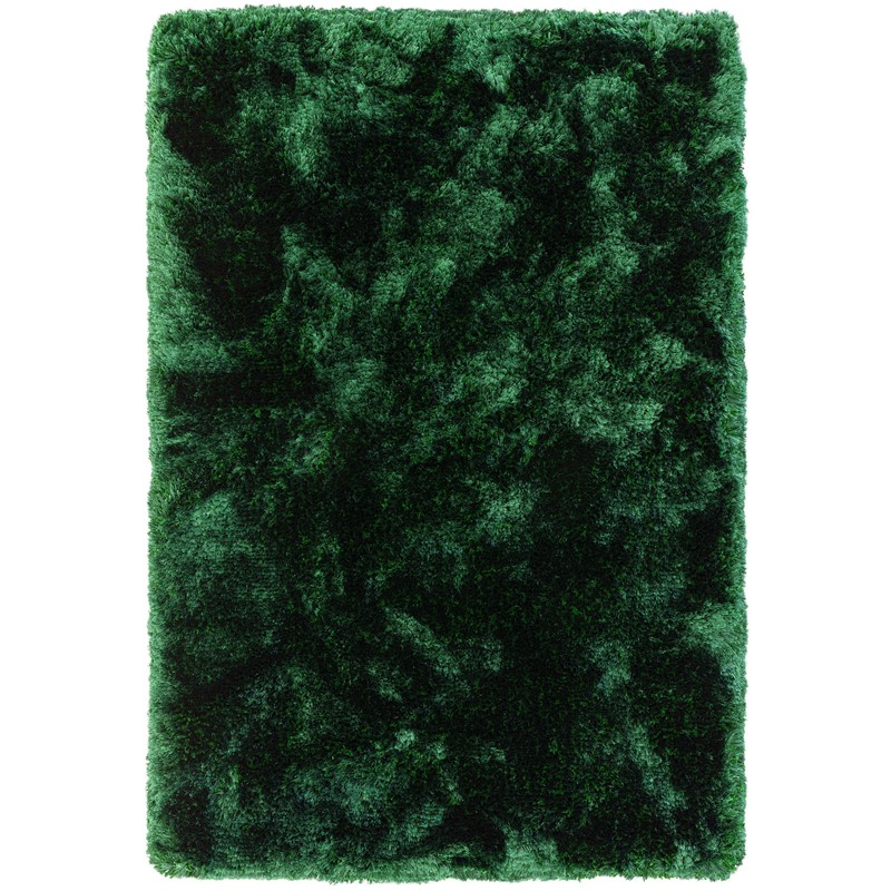 Plush Rugs in Emerald