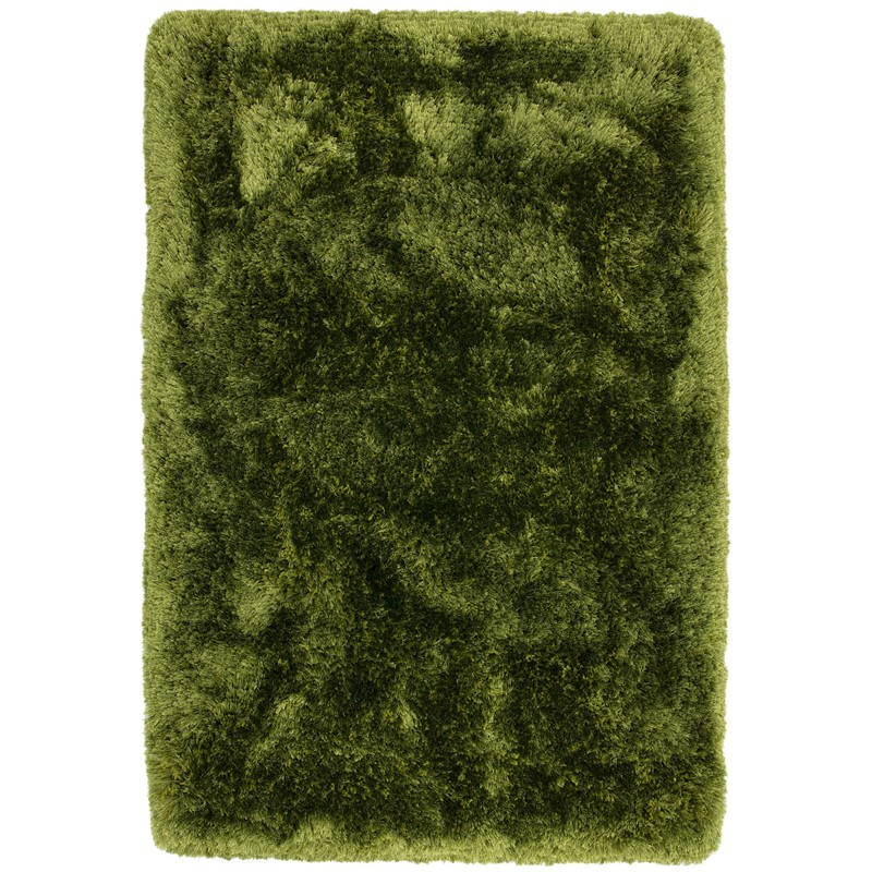 Plush Rugs in Green