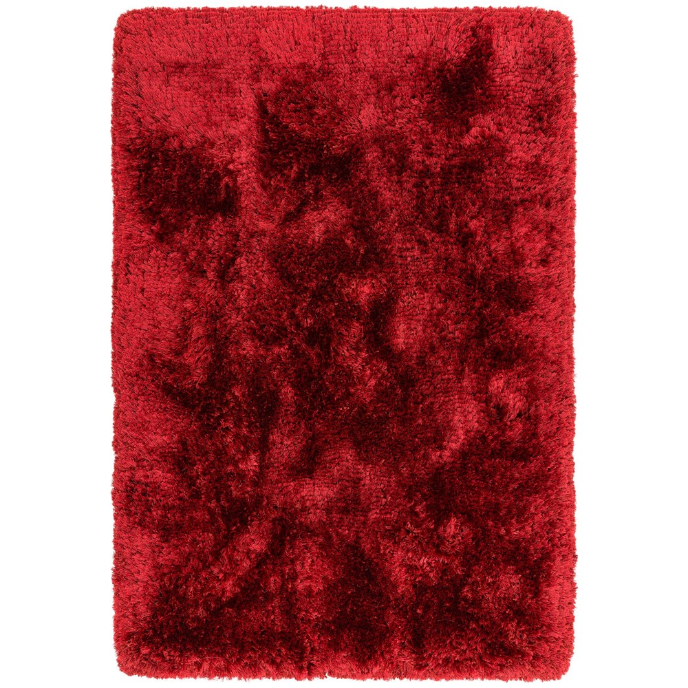 Plush Rugs in Red