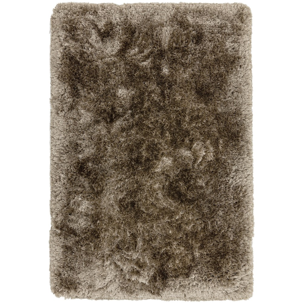 Plush Rugs in Taupe