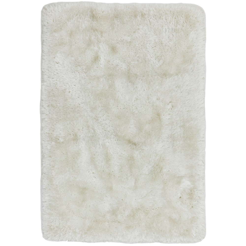 Plush Rugs in White