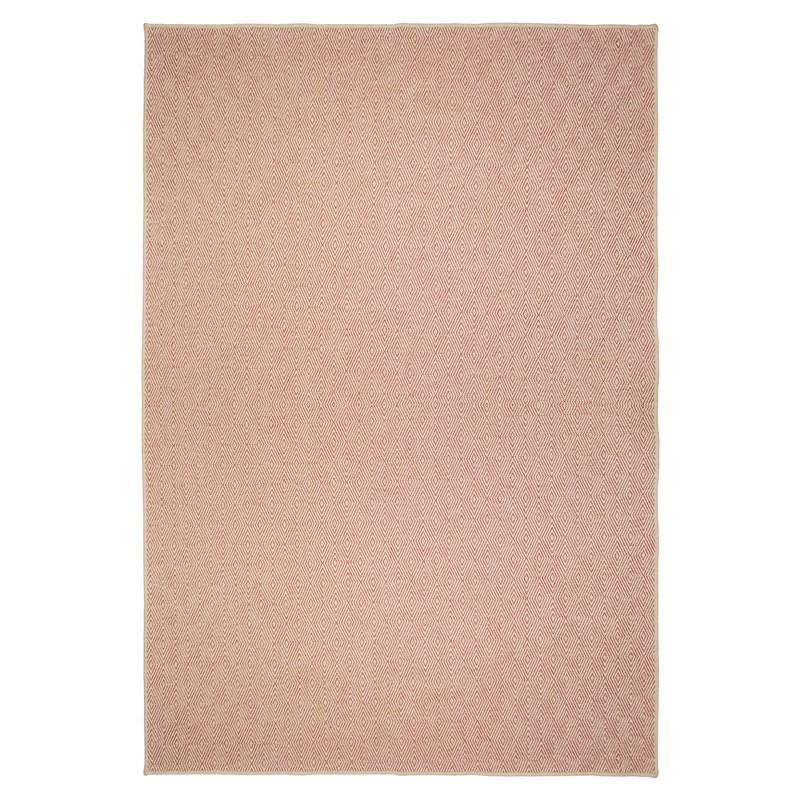Herringbone Diamond Jute rug for student bedroom rugs