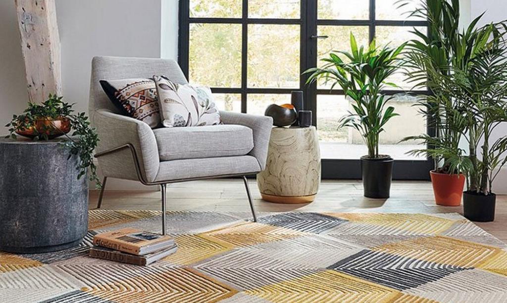 Eco-Friendly Home - Rhythm Wool Rug From The Rug
