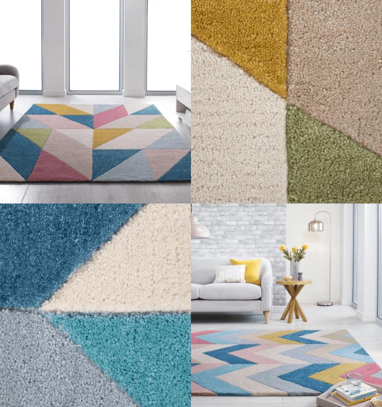 The Fun Mum - Zest Chroma and Metro rugs