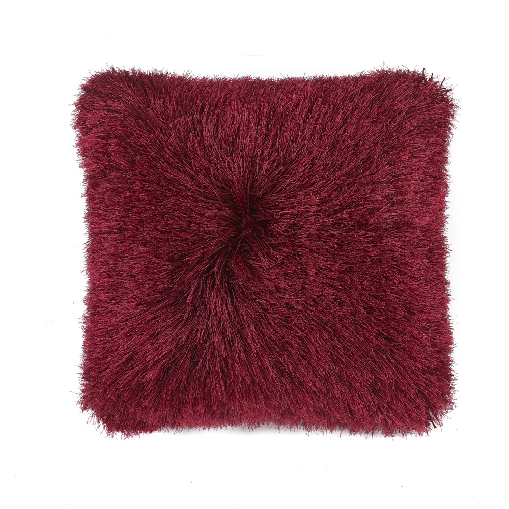 Origins Extravagance Cushion in red by The Rug Seller