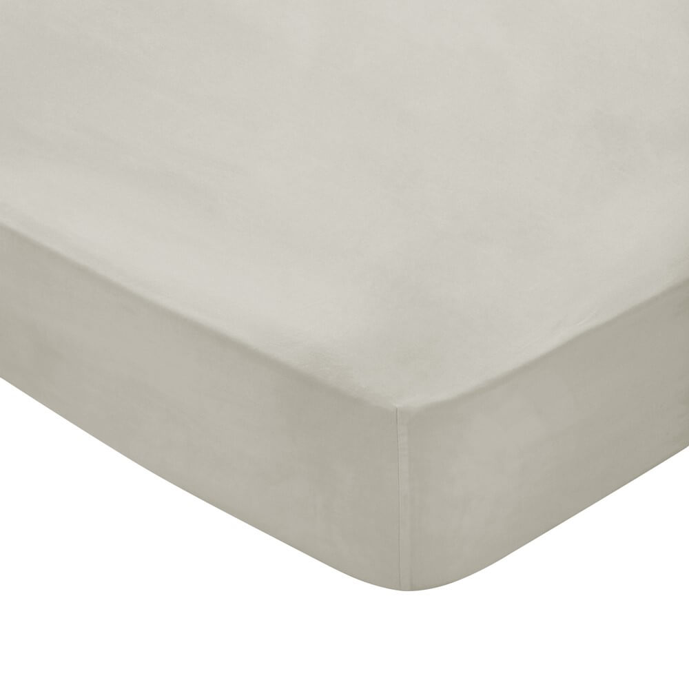 luxury bedsheets close up in a chalk white colour on a white background